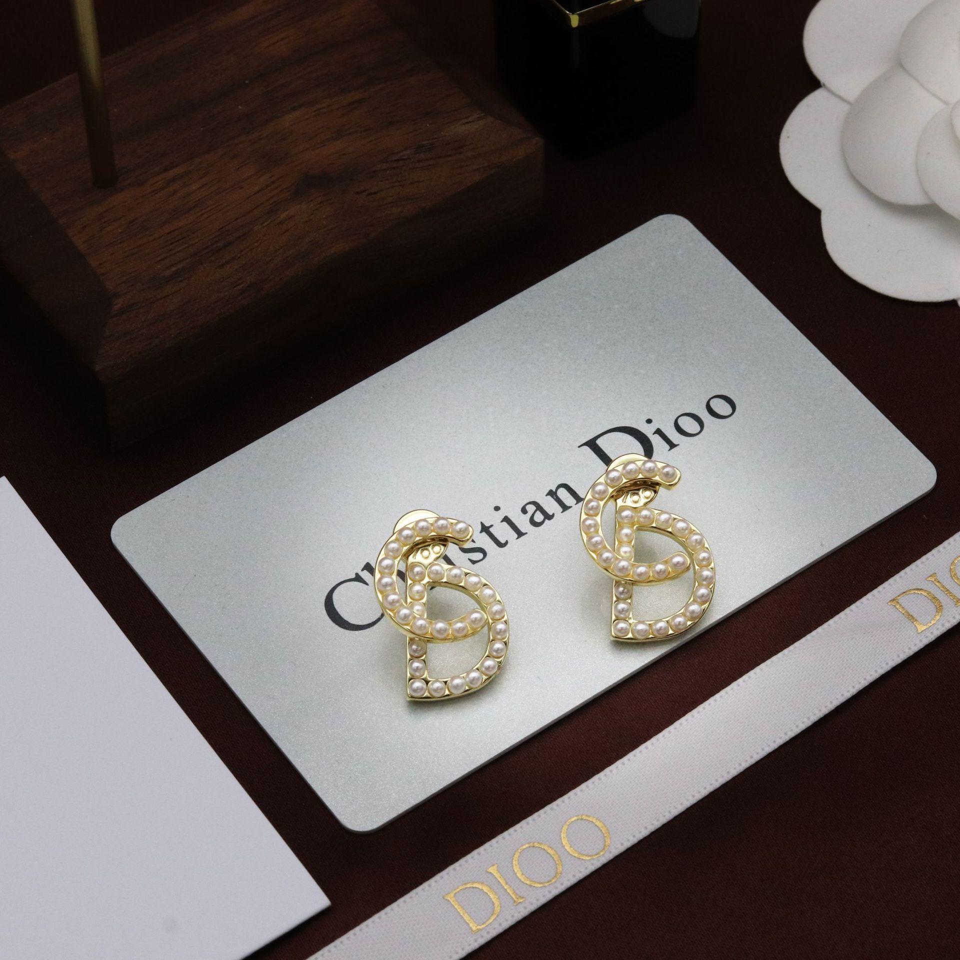 d familie pearl gold cd brief frauen neue 21 jahr dijia net rot vielseitige ohrringe