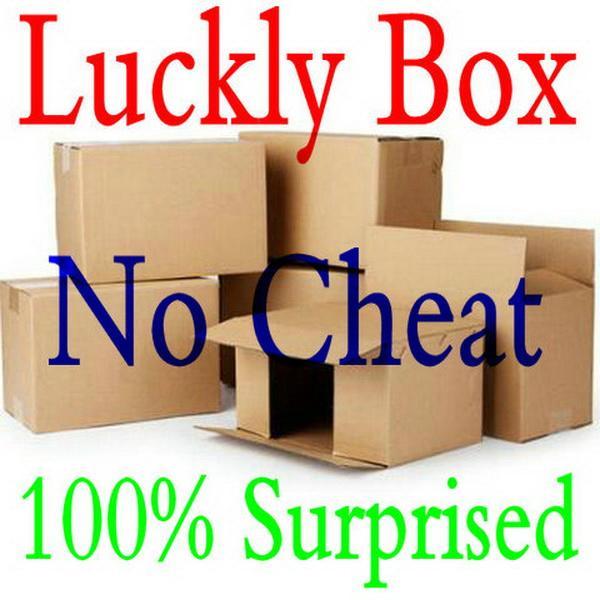 Freies Verschiffen neues beliebtes Wohlfahrt-Feedback günstige Preis-Blind-Box-Geschenk-Mystery-Spielzeugkästen zum rechten Kasten Überraschung für Freund.