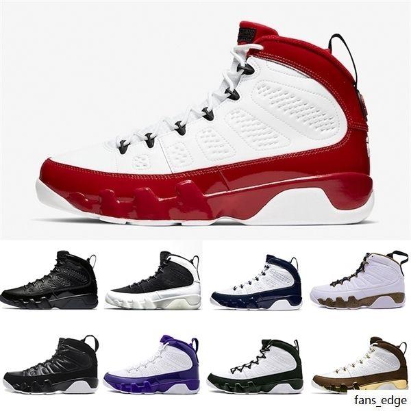 Spor Salonu Kırmızı Racer Mavi Narenciye 9 IX 9S Erkek Basketbol Ayakkabıları Rüya It UNC La Oreo Bred Uzay Reçel Erkekler Spor Sneakers 7-13