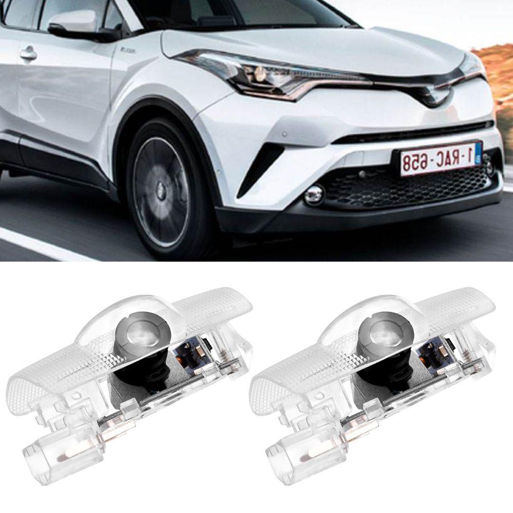 4 шт. Автомобиль светодиодный дверной логотип проектор Добро пожаловать Легкая лазерная дверная дверь для Toyota Highlander Camry Corolla Reize Crown Prado Prius New
