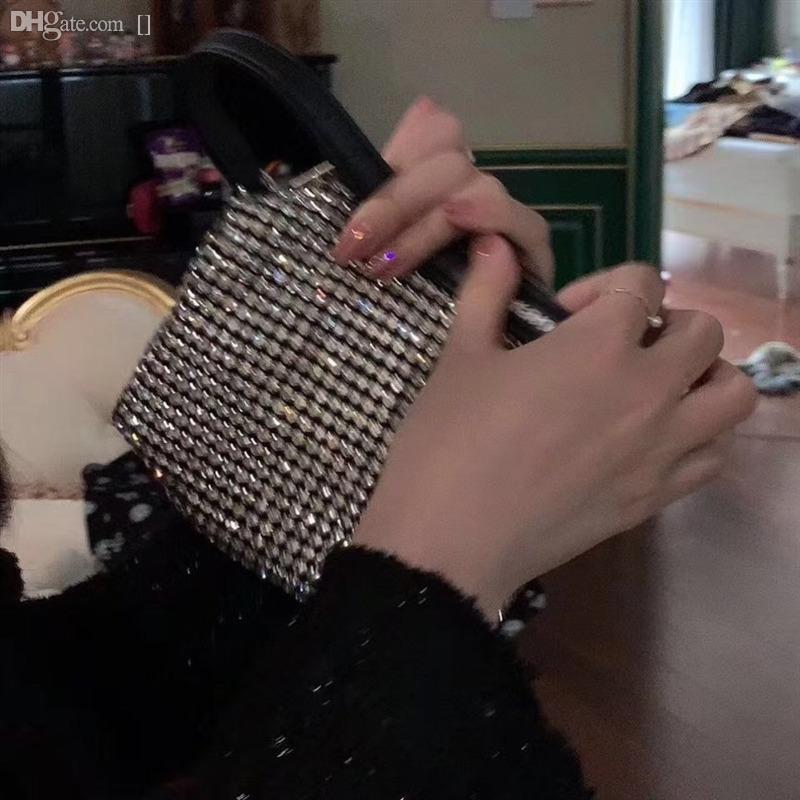 6TOWJ Çanta Tasarımcısı Omuz Kalitesi Çanta JCSTA Lüks Yeniden Edition Kadınlar Deri Yüksek Naylon Diamonds Tote BXWRX