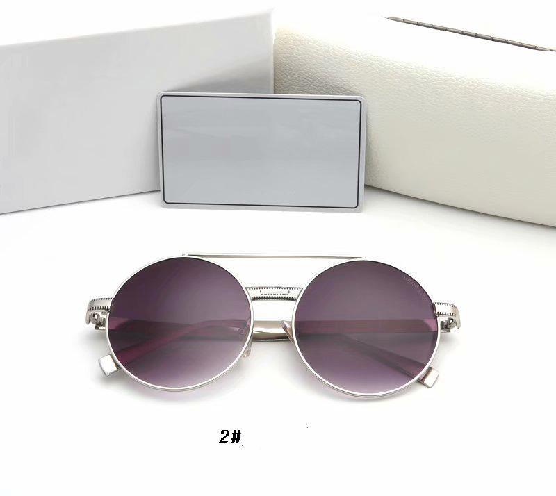العلامة التجارية النظارات الشمسية الرجال والنساء في الأشعة فوق البنفسجية المستقطبة عدسات الكمبيوتر نظارات معدنية كاملة الإطار الشمسي نظارات العلامة التجارية هدية مربع