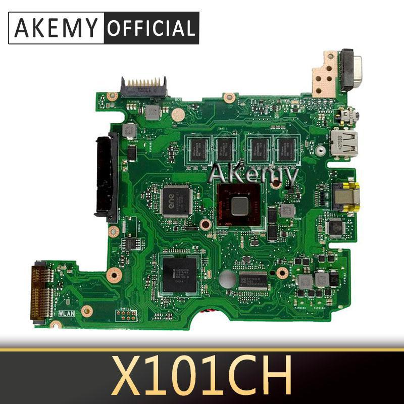 Akemy X101CH Motherboard REV2.3 / 2.0 For ASUS X101C X101CH laptop Motherboard Mainboard