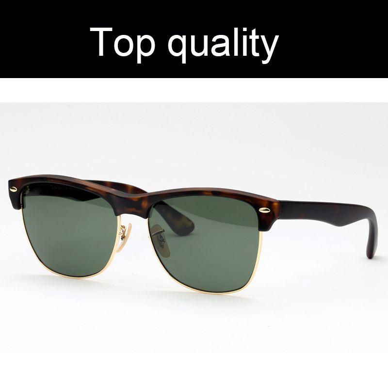 أعلى جودة 4175 النظارات الشمسية الرجال النساء الناتج النايلون المتضخم نظارات شمسية للرجال مع عدسات الزجاج الأشعة فوق البنفسجية جميع حزم البيع بالتجزئة!