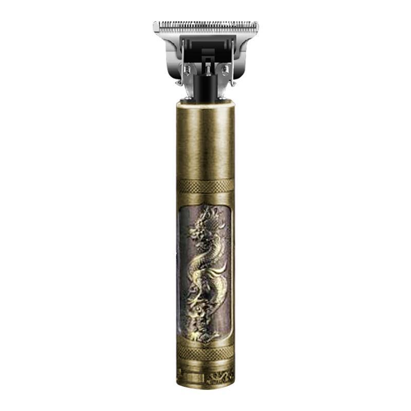 Kemei Baldheaded Saç Kesme Saç Düzeltici Ağır Hitter Akülü Düzeltici Erkekler 0mm Karbon Çelik Kesici Kafa Saç Kesme Makinesi 210302