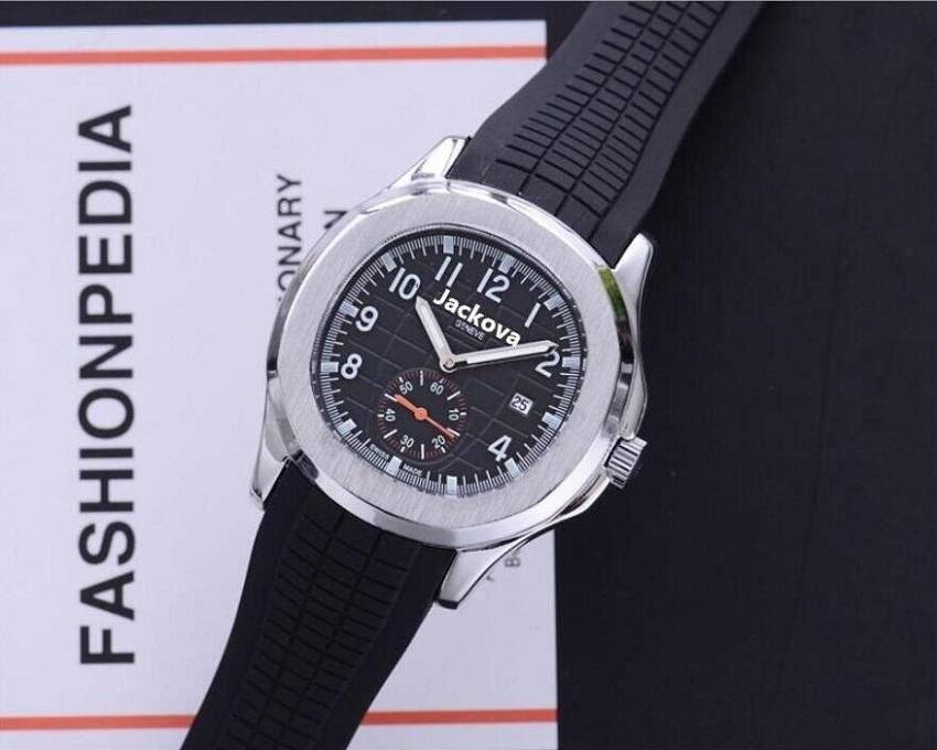 Lüks Erkek Saatler 40 MM Kadınlar Kuvars İzle Tasarımcısı Saatler Moda Silikon Kayış