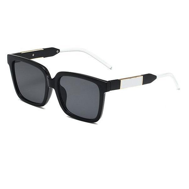 Klasyczne męskie Kobiety Okulary przeciwsłoneczne w USA Europejska Fashion Sunglass Unisex Universal Sun Glasses 7 Kolory Ładne Ramki Ramki Vintage Eyeglasses