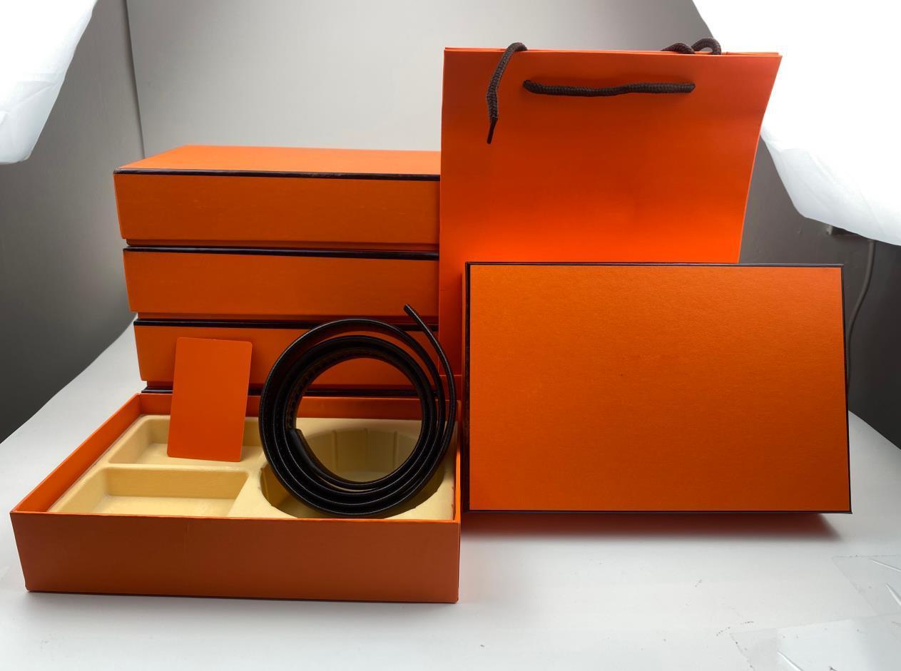 패션 캐주얼 디자이너 벨트 도매 고품질 망 여자 벨트 2 금속 자동 버클 가죽 너비 3.5cm 3.8cm 클래식 편지 상자