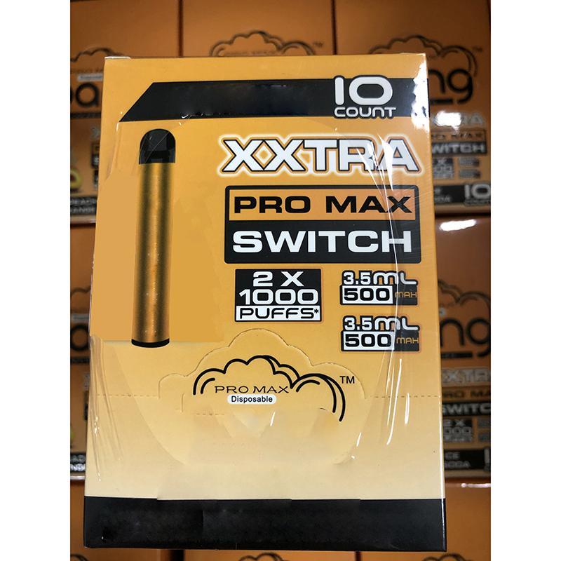 Kit de périphérique jetable Bang XXL Pro Max Vape 2 en 1 6 ml Pods 2000 Puffs 1100mAh Batterie XXTRA Double stylo pour bouffée Ezzy Super
