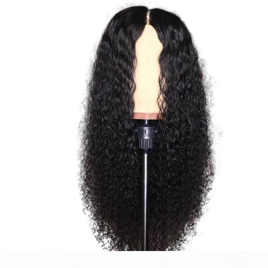 Perruques de cheveux humains Dentelle Perruques avant Remy Virgin Vierge Deep Loose Wave Vague Baby Cheveux Preflina Naturel HairLine Wowwigs