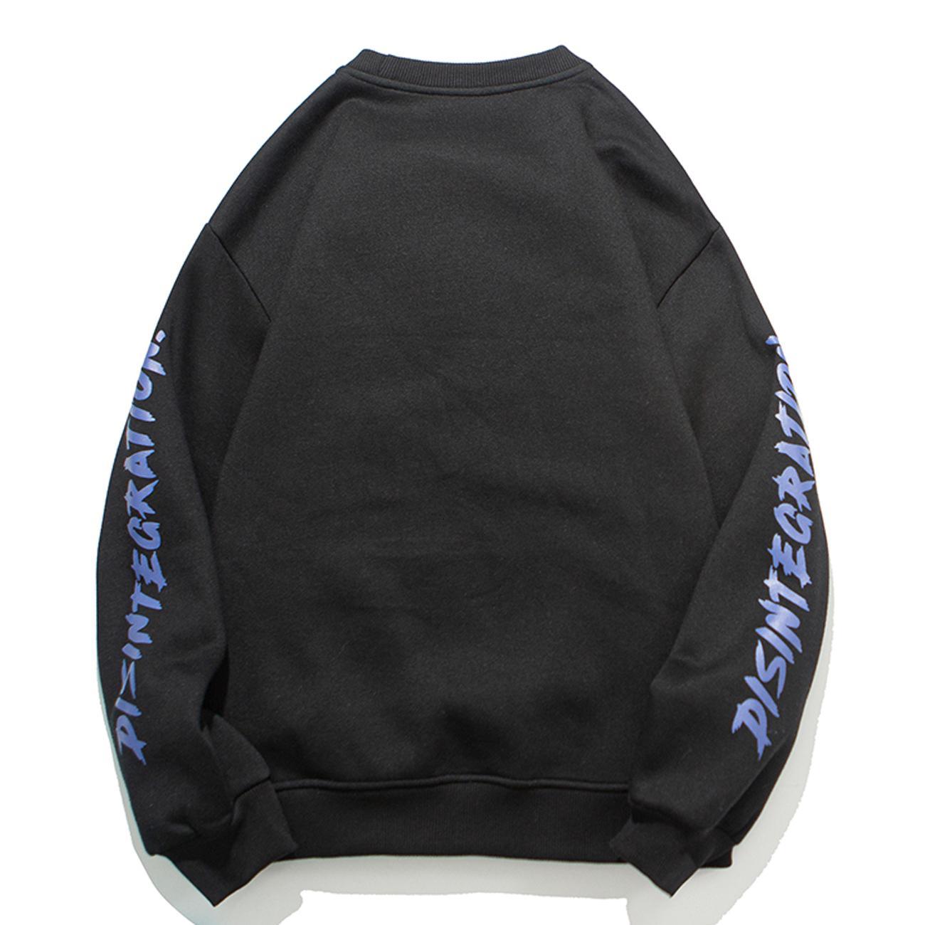 Eden 2021 Aelaşa Hip Hop Streetwear İki Eller Yükleniyor Baskı Harajuku Hoodie Tişörtü Kış Kazak Erkekler C 39DS