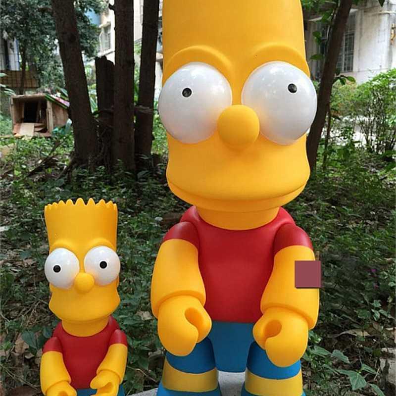 Las figuras de acción de los ladrillos Qee Blishs Blocks de dibujos animados Poppers PVC Street Art Collectible Modelos Juguetes