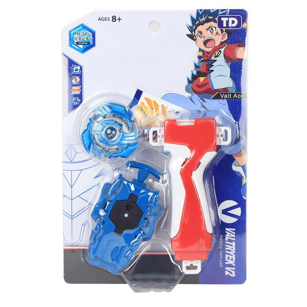 Beyblades Burst Metal Fusion Balblade Gyro with Grip Launcher Toys for Children 210304