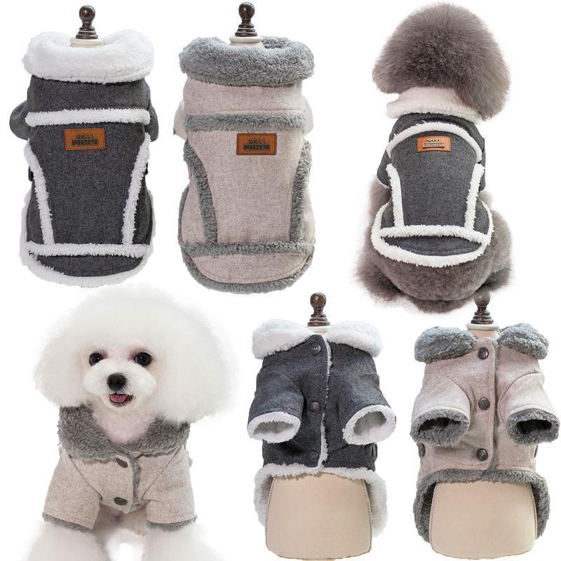 Hund Bekleidung Kleidung Winter Warme Pet Jacke Mantel Welpen Chihuahua Pudel Kostüm Kleidung für kleine mittelgroße Hunde Yorkshire Outfit