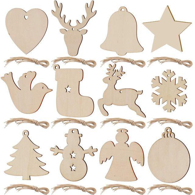 나무 크리스마스 트리 펜던트 장식 액세서리 엘크 크리스마스 나무로 그리스도 크리 에이 티브 펜던트에 대 한 눈송이 손으로 그린 장식