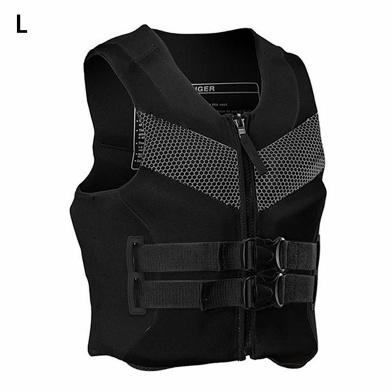 Life Vest & Buoy Adult Jacket Premium Neoprene Safety Water Ski Wakeboard Float