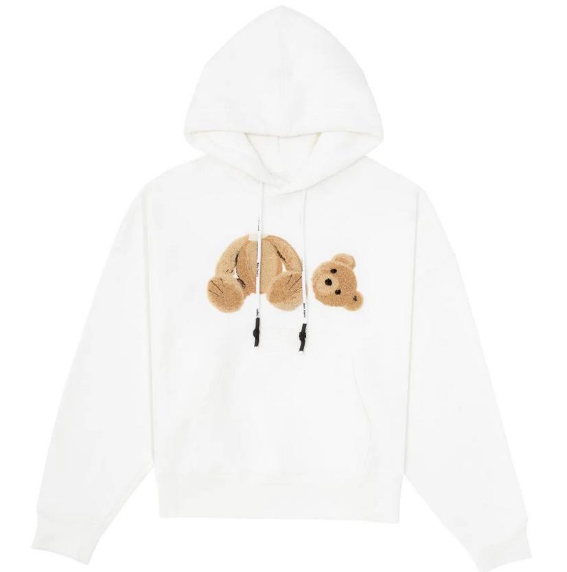 Femmes Chic Femmes Longues Sweets Sweatshirt à capuche Lettre Designer imprimé Designer Hommes Cuff Cuff Kangourou Pocket Bear Sweat à capuche