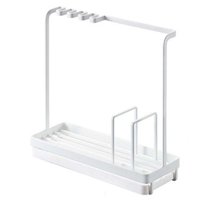 تنظيم تخزين المطبخ الجرف مع هجرة حامل رف عموم سطح المكتب الحديثة متعددة الوظائف تنظيم أواني بسيطة وجميلة