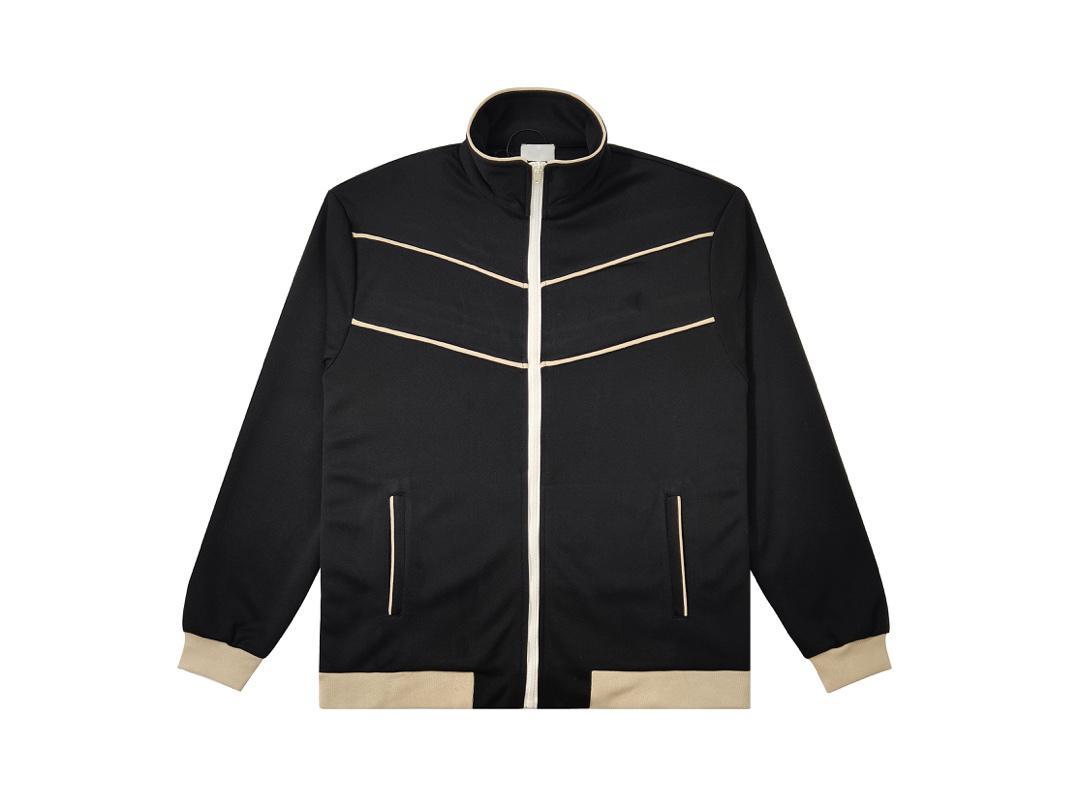 Top version, ladies designer jacket 2021 Paris Arc de Triomphe catwalk model, retro baseball uniform, high-level embroidery, sportswear o Europe and USA Size M-XL