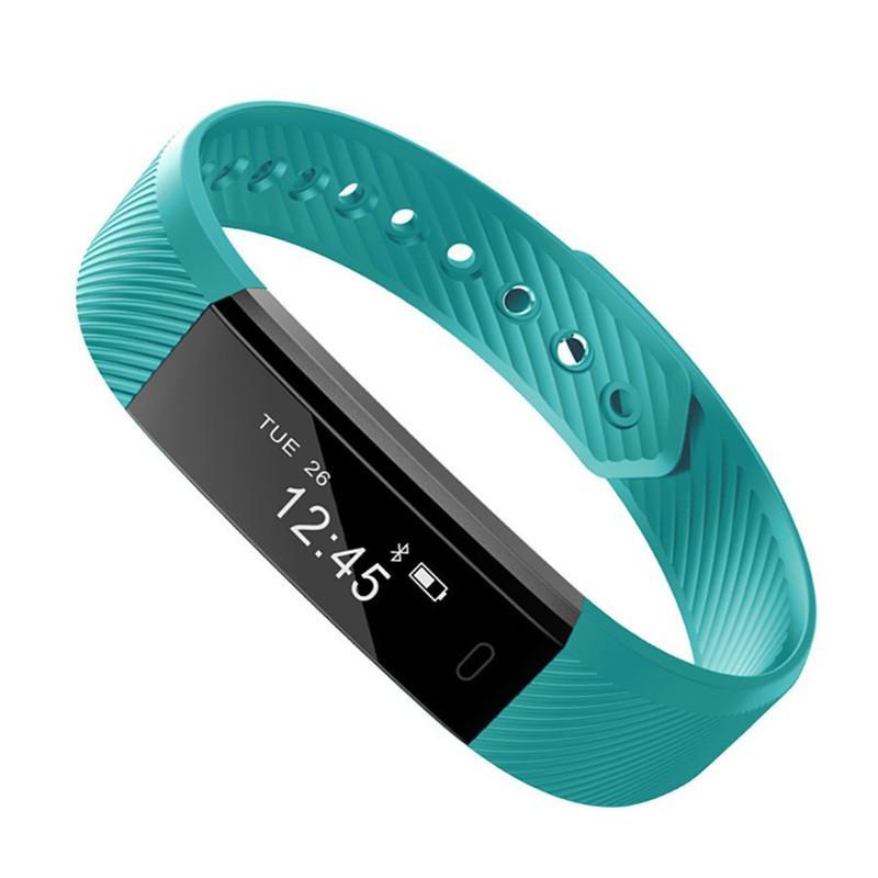 ID115 Smart Bracelet Fitness Tracker Passometer Smart Watch Step Counter Aktivität Monitor Vibration Smart Armbanduhr für ios iphone Android