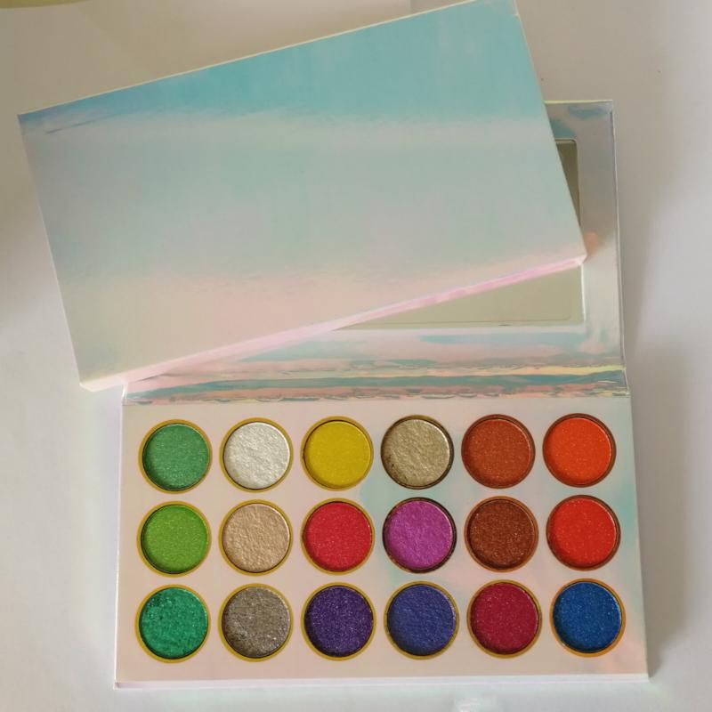Private Label Makeup Eye Shadow Palette Wholesale Waterproof Long Lasting Pigmented 18 Colors Eyeshadow Make Up Palettes Hot Beauty Cosmetics High Quality