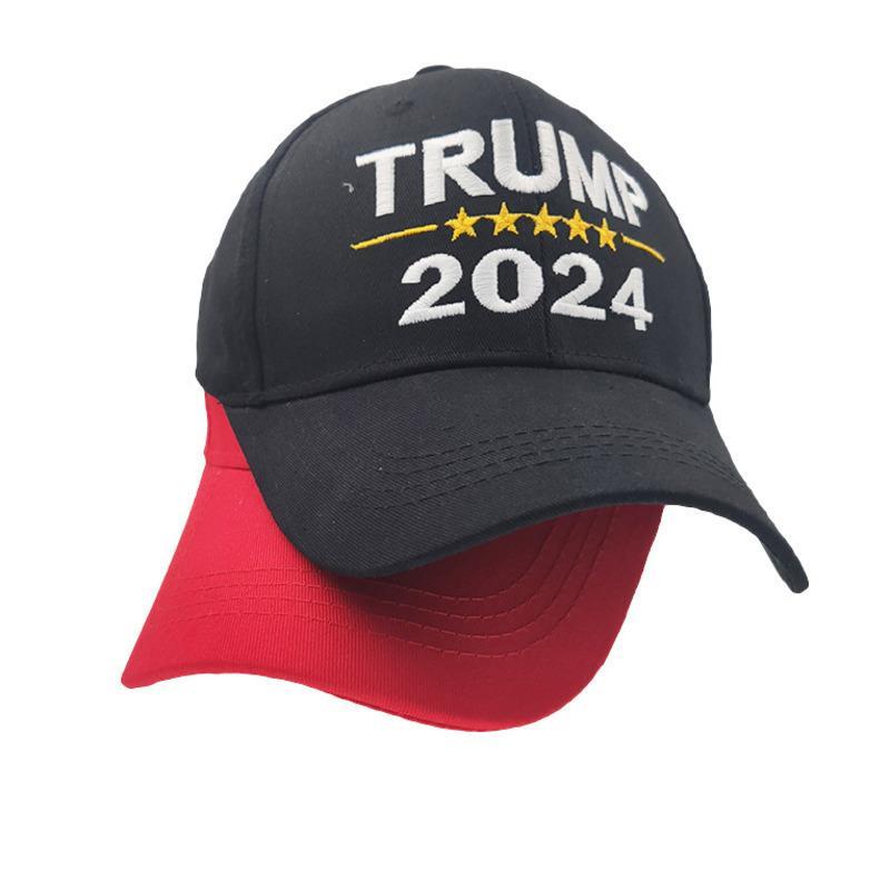 2024 ترامب قبعة الانتخابات الرئاسية خطابات مطبوعة قبعات البيسبول للرجال النساء الرياضة قابل للتعديل ترامب الولايات المتحدة الأمريكية الهيب هوب ذروة قبعة الرأس ارتداء G3202