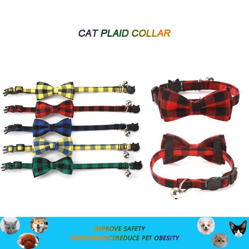 Collari per cani Guinzaglio Rimovibile Bow Accoulgato Pet Tie Colletto Regolabile Cat Dress Up Delicato anello del collo del cucciolo della fibbia di sicurezza delicata