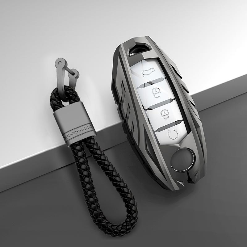 Suitable for NissanTeana aluminum alloy key set