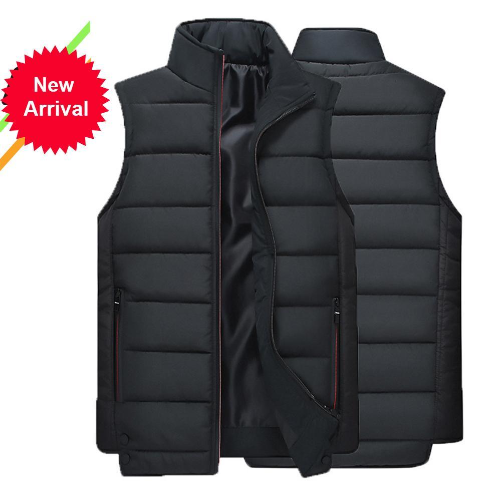 2021 KB Nouveauté d'automne et d'hiver manteau masculin mode chaud usure extérieure chaude coton gilet décontracté veste sans manches 0E41 xbbk