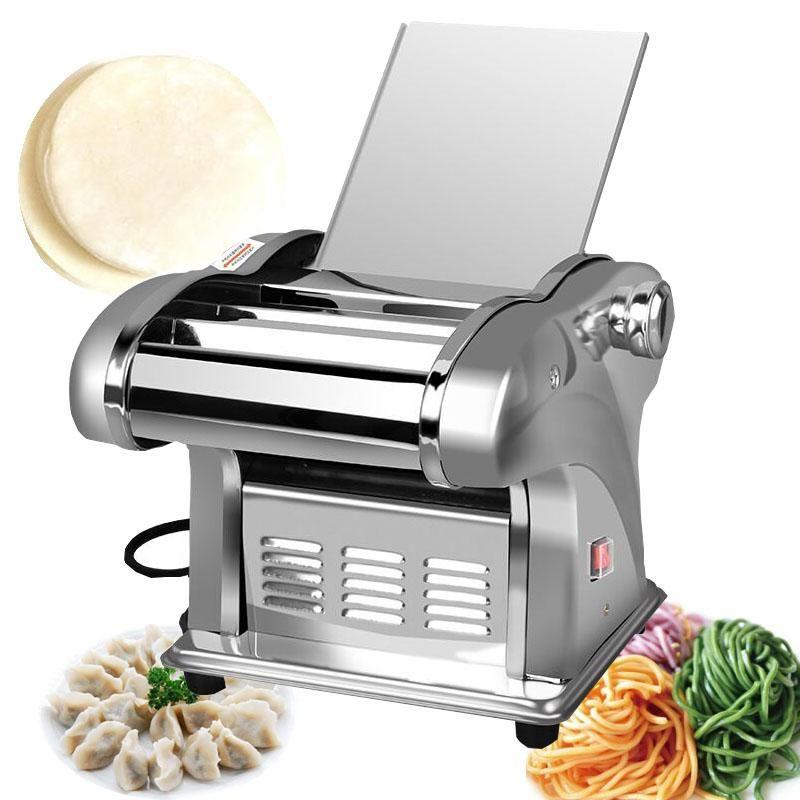 Electric Noodle Pressemaschine Spaghetti Pasta Maker Commercial Edelstahl Teigschneiderknödel Roller Nudeln Kleiderbügel