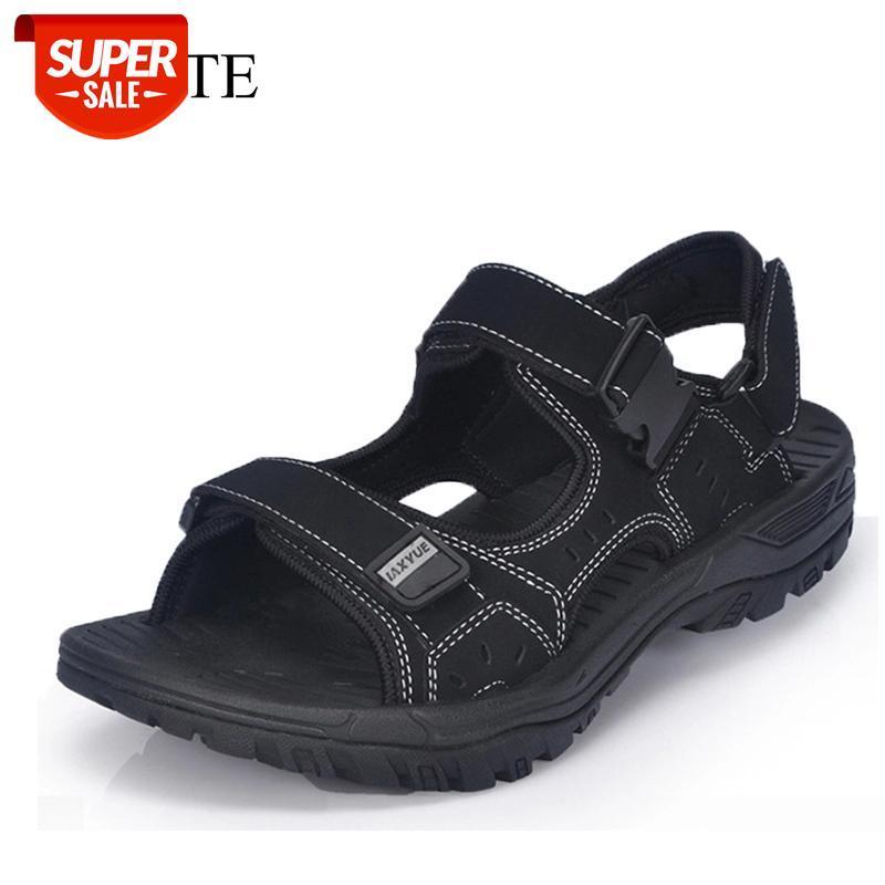 Летние мужские сандалии обувь Мягкая сандалия для мужчин пляж римские Сандалии повседневные туфли флип флопы мужские тапочки Chaussure Homme # 6E2R
