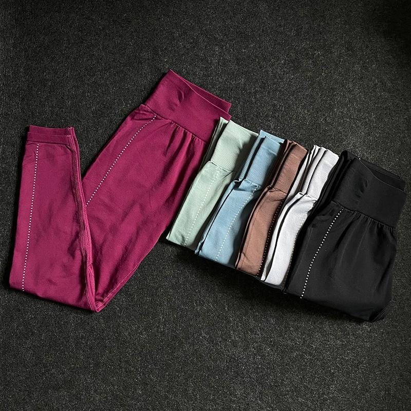 Yoga Outfits Hohe Taille Push Up Sport Frauen Fitness Workout Strumpfhosen Hosen Squat Proof Hose Gymness-Laufging-Leggings