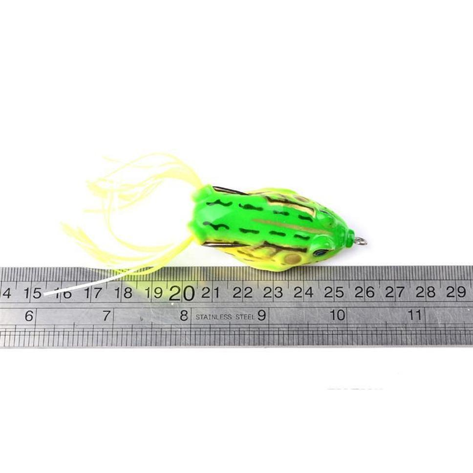 8colors Simulation Ray Frog Artificial Lure For Freshwater Fishing 13.5g 6cm Topwater Sof jlluzk warmslove