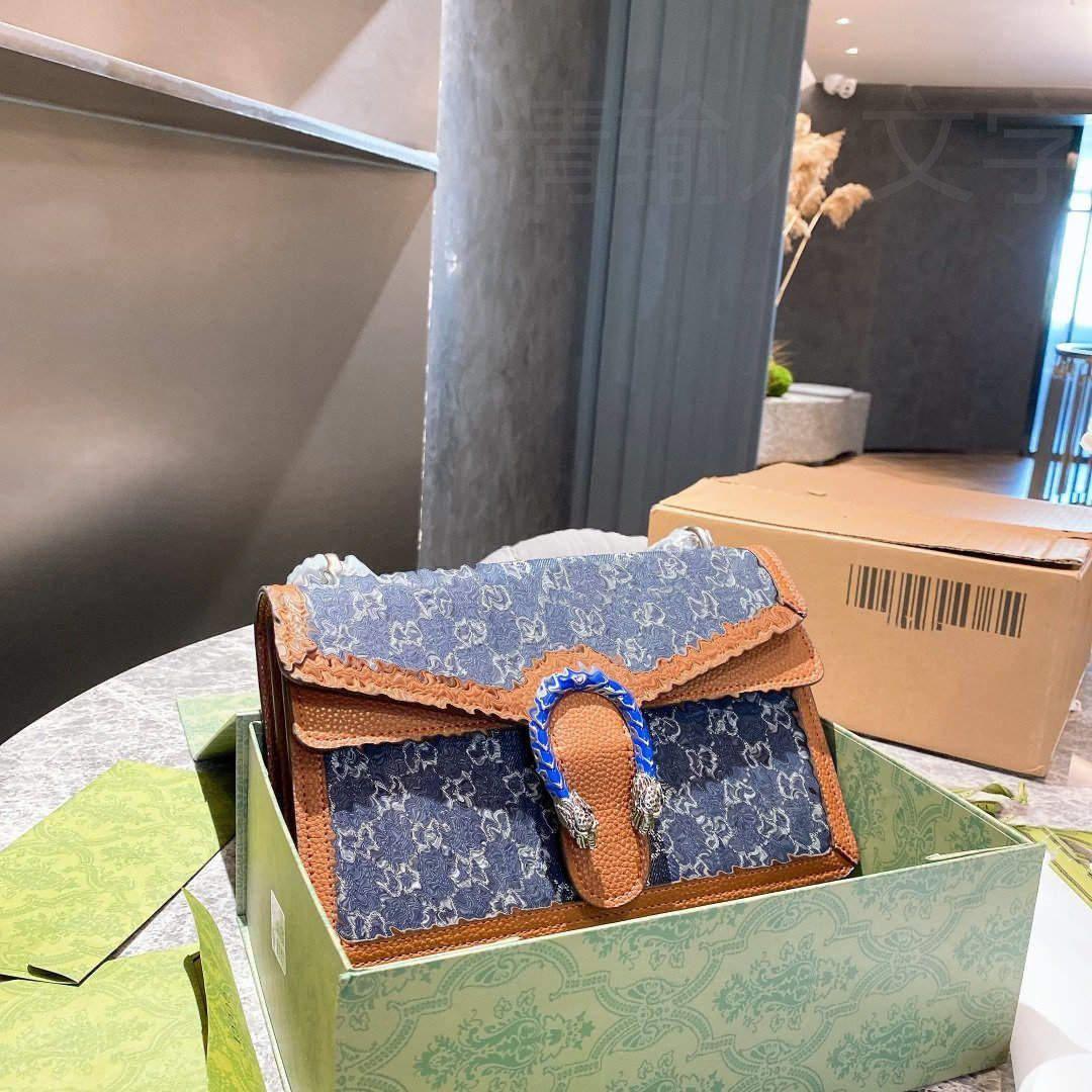 Designer Crossbody Tote Borsa a tracolla Messenger Handbag Portafoglio Sella borsa Lvlouis Zaino con logo Gucci A57