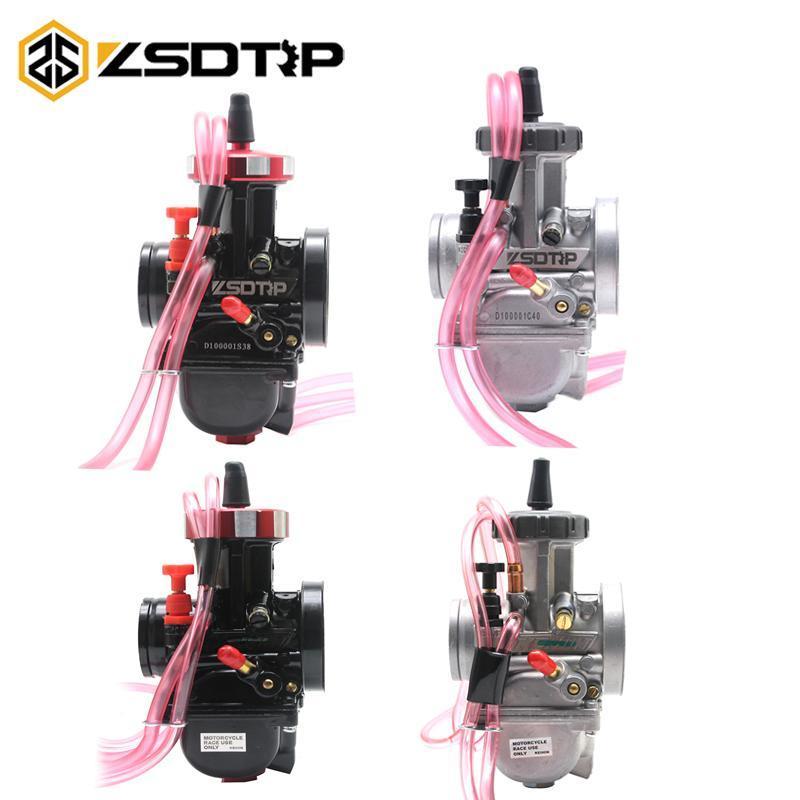 ZSDTRP 33 34 35 36 38 40 42 мм PWK KEIHIN Мотоцикл Carburetor 4T Engine Universal подержанный UTV ATV для большого объема смещения двигателя