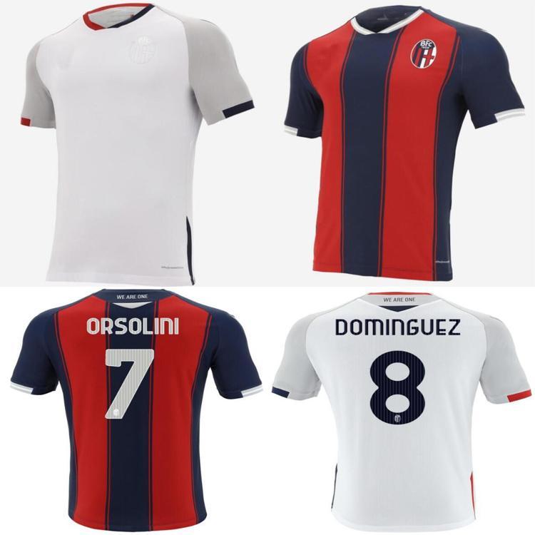 Top Quality 2021 Bolonha Soccer Souseys Orsolini São Sansone Olsen Tomiyasu Custom 20 21 FC Club Futebol Camisa Uniforme