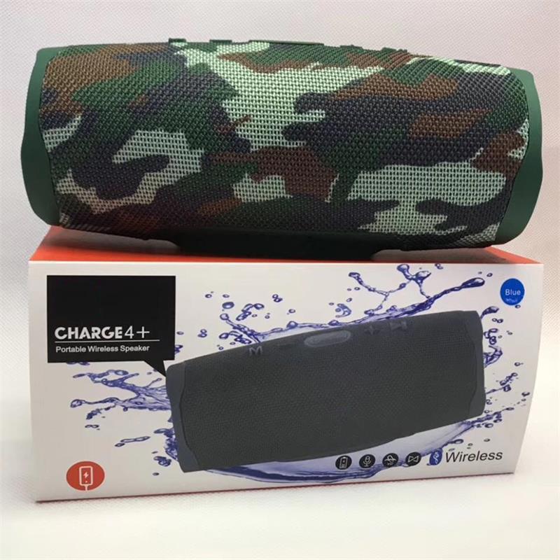 Ladegerät 4+ 4 plus bluetooth lautsprecher subwoofer drahtlose tiefe stereo tragbar mit dem Einzelhandelspaket