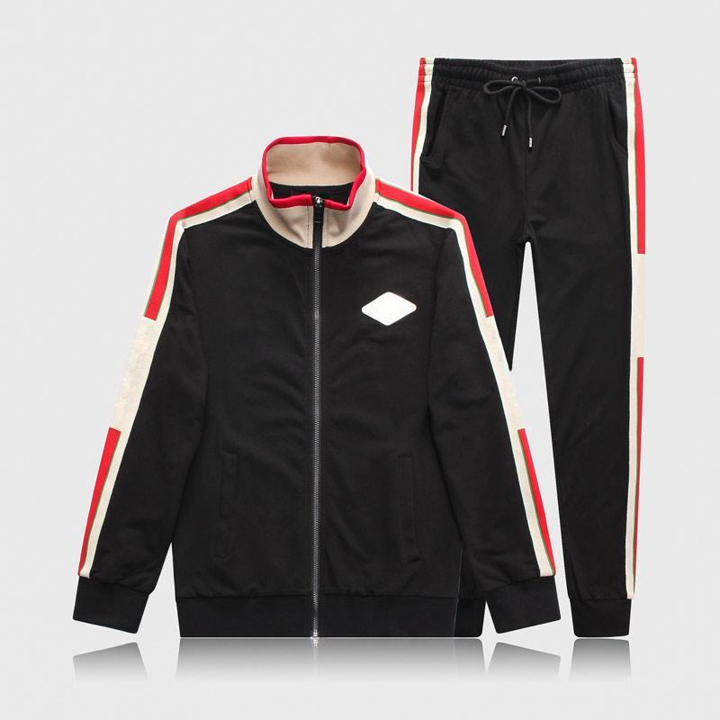 Мужчины Sportswear Tracksuits Набор Мужская осень зима повседневная трексуита 2020 новая мода мужчина кофты кофты пальто мужские бегуны уличные W558