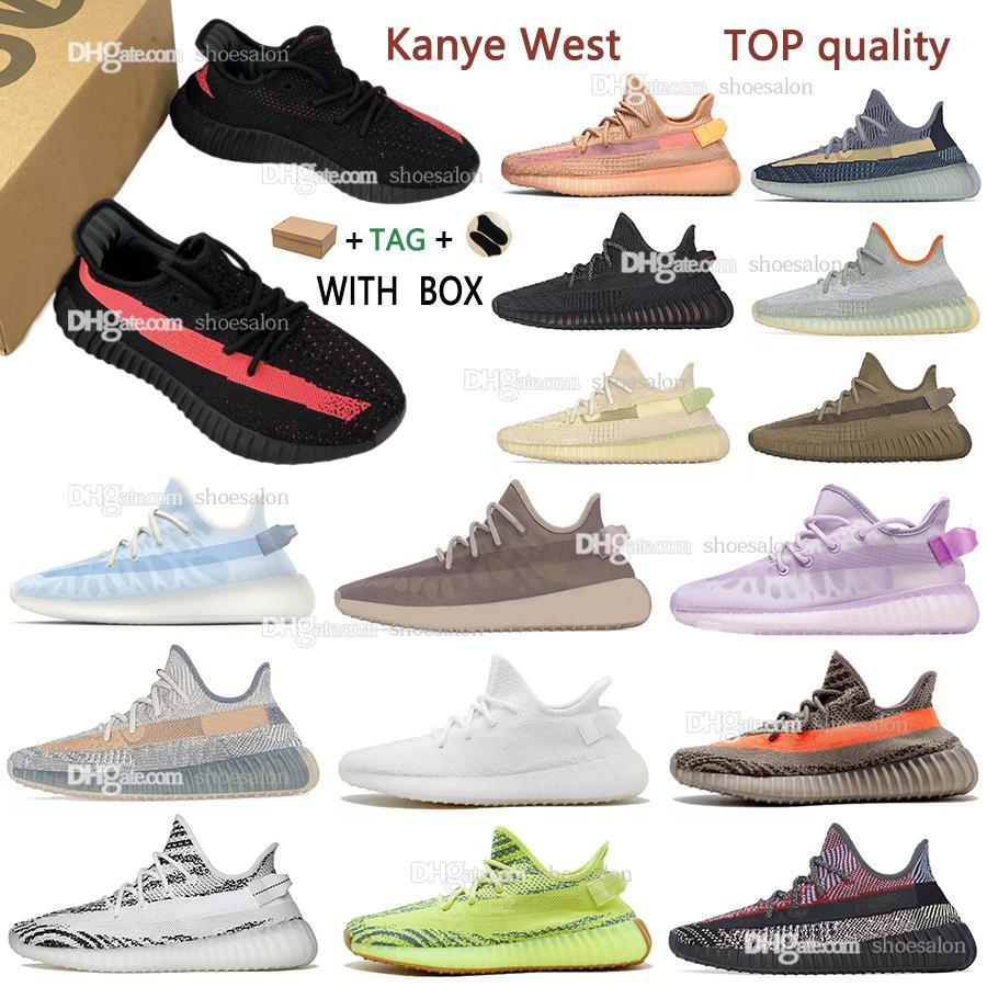 adidas kanye west yeezy boost 350 v2 yeezys yezzy running shoes men women Sneakers Mono Ice Yecheil Cinde tail Desert Static Reflective belgua semi Trainers Asriel Zebra