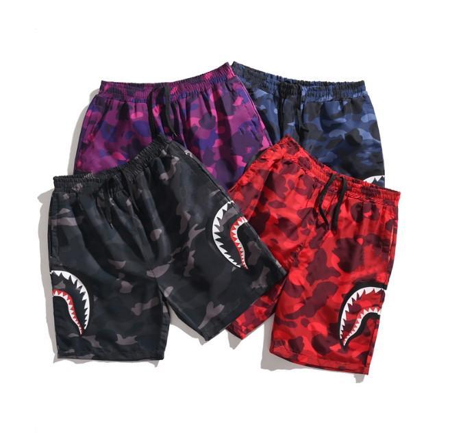 Pantalon Court Pantalon Court Jogger Causes Créwneck Ovo Drake Hip Hip Hop Men Camouflage Camouflage Pantalon décontracté avec impression latérale M-3XL