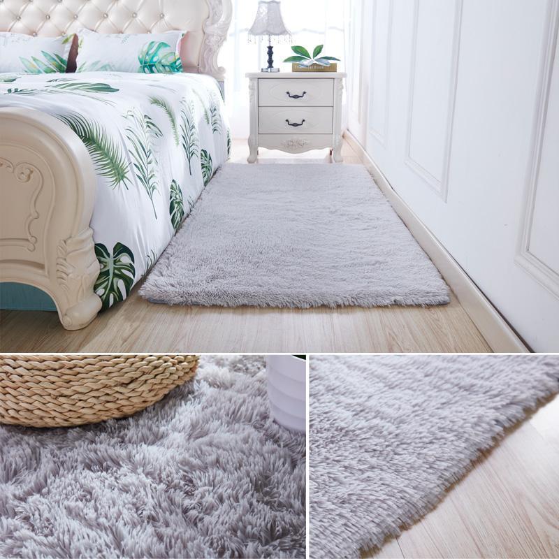 Halı yatak odası başucu battaniye mat paspas odası uyku uyku battaniye oturabilir