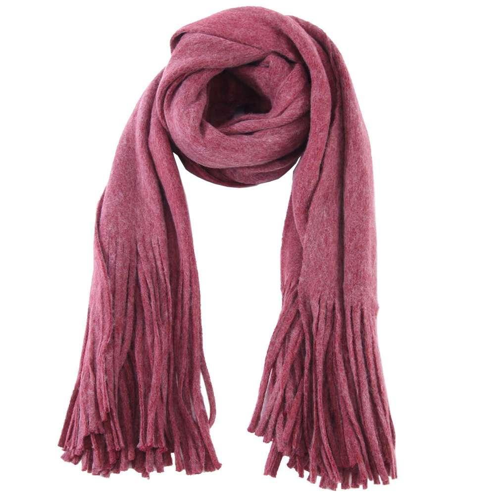 Корейский шарф женский зимний двойной цель длинный сплошной цвет теплый супер большой многофункциональный универсальный шаль W2501P25