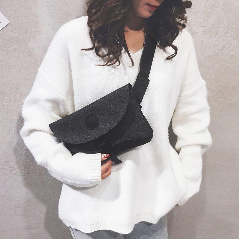 Casual Functional Chest Fashion Fanny women Waist Money Belt Bag waterproof Phone Pouch Travel Hiking Sport C0305
