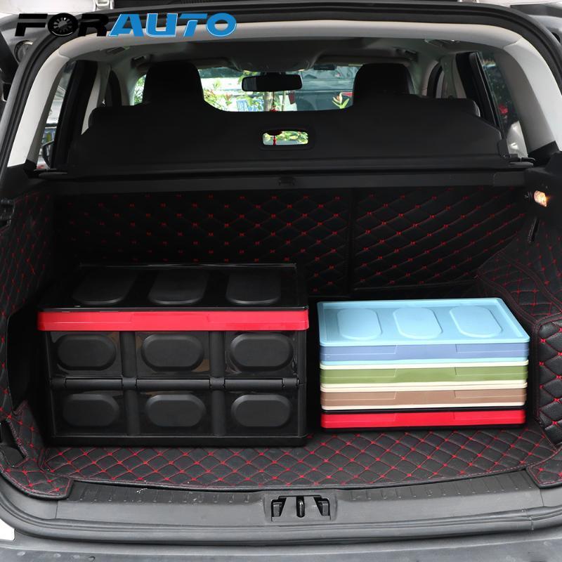 Car Organizer FORAUTO Storage Box Foldable Stowing Tidying Styling Trunk Multifunctional Large Cargo