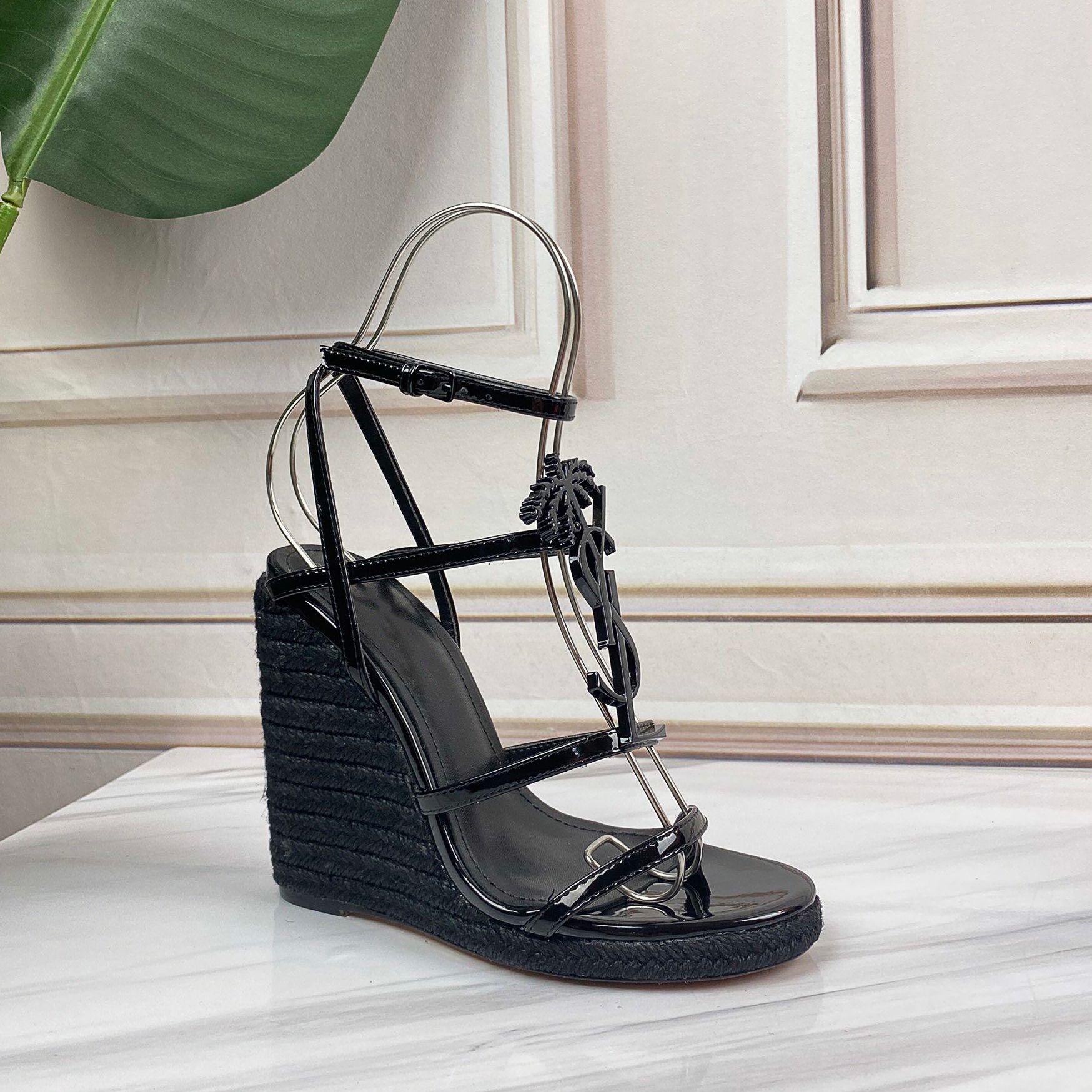 2021SS Erken Bahar Lüks Tasarımcı Ayakkabı Strappy Roma Sandalı Minimalist Yüksek Soğuk Kutusu