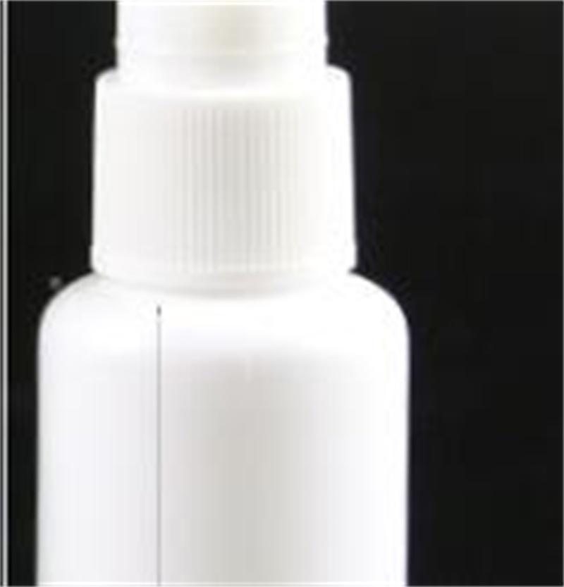 Botella de spray nasal plástica con botella de rociado PE de la bomba 10ml 20ml 30ml 50ml Botella de recargante 141 V2