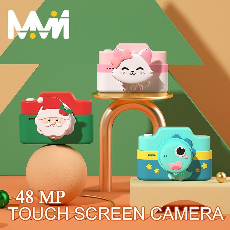 4K цифровая камера Детская камера 48mp 3-дюймовая камера с Wi-Fi Сенсорный экран для девочек Подарок детей