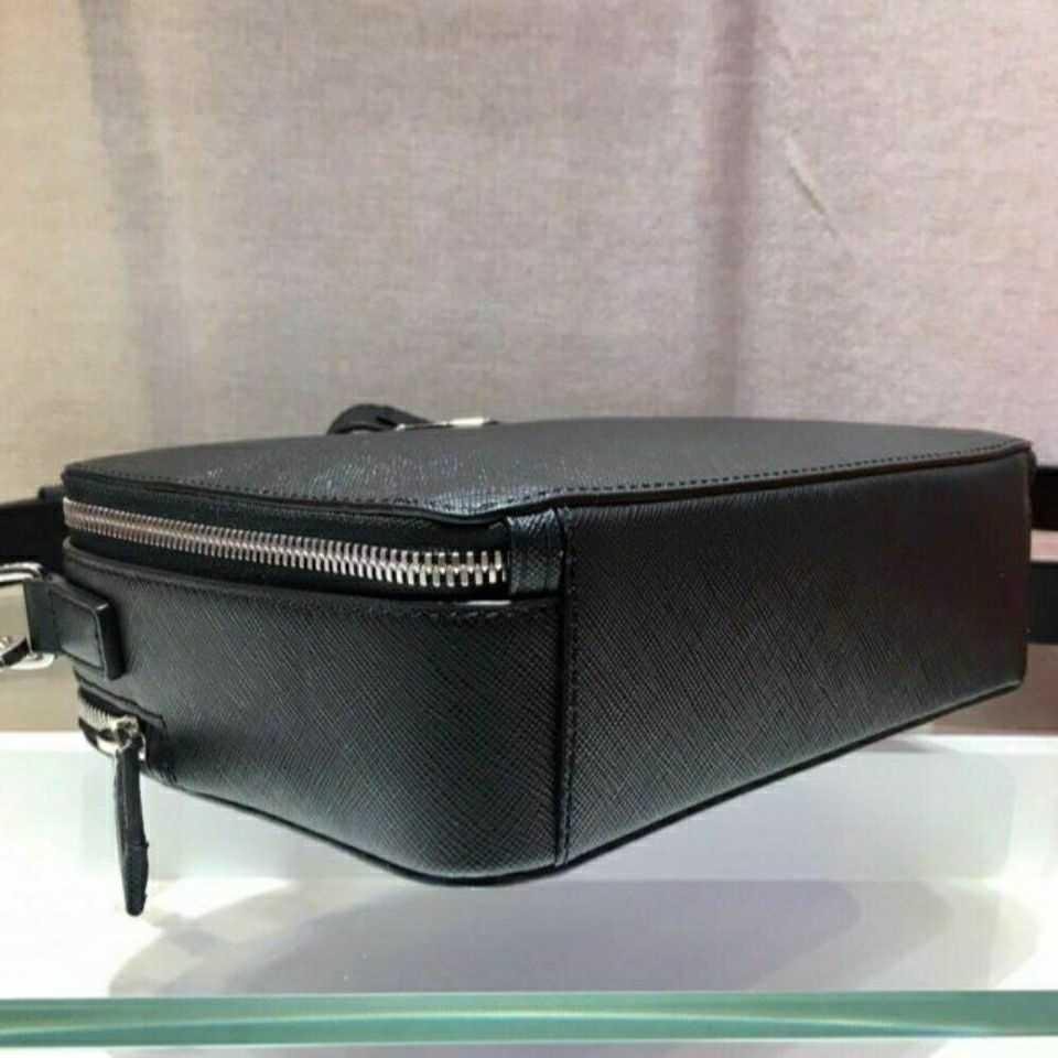European Station Foreign Trade Original Single Men's Shoulder Leather Hand Compartment Fashion Trend Handbag Zly