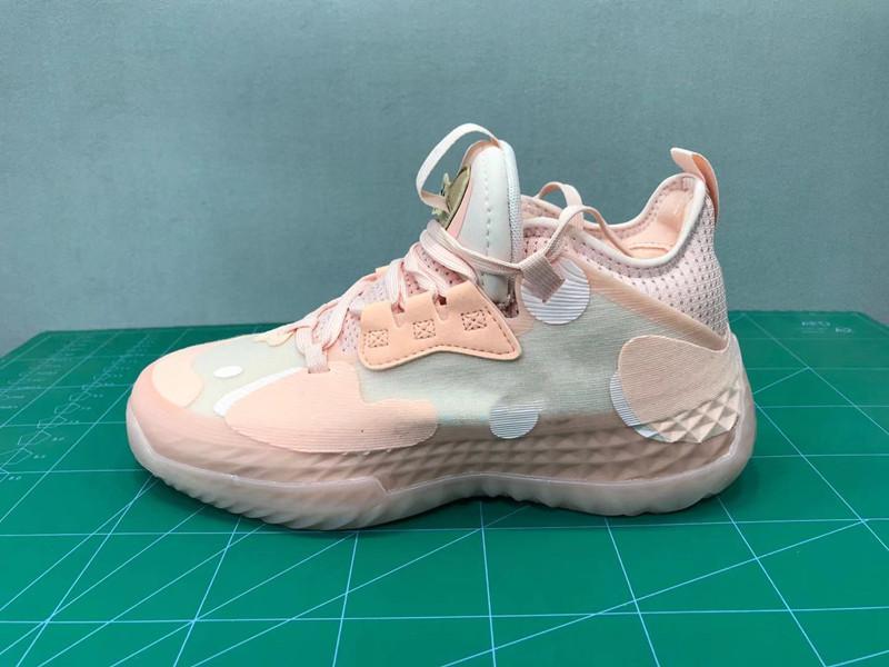 2021 هاردن vol.5 الجليدية الوردي الخالق أحذية كرة السلة مع صندوق HGH جودة المجلد 5 الأحذية الرياضية