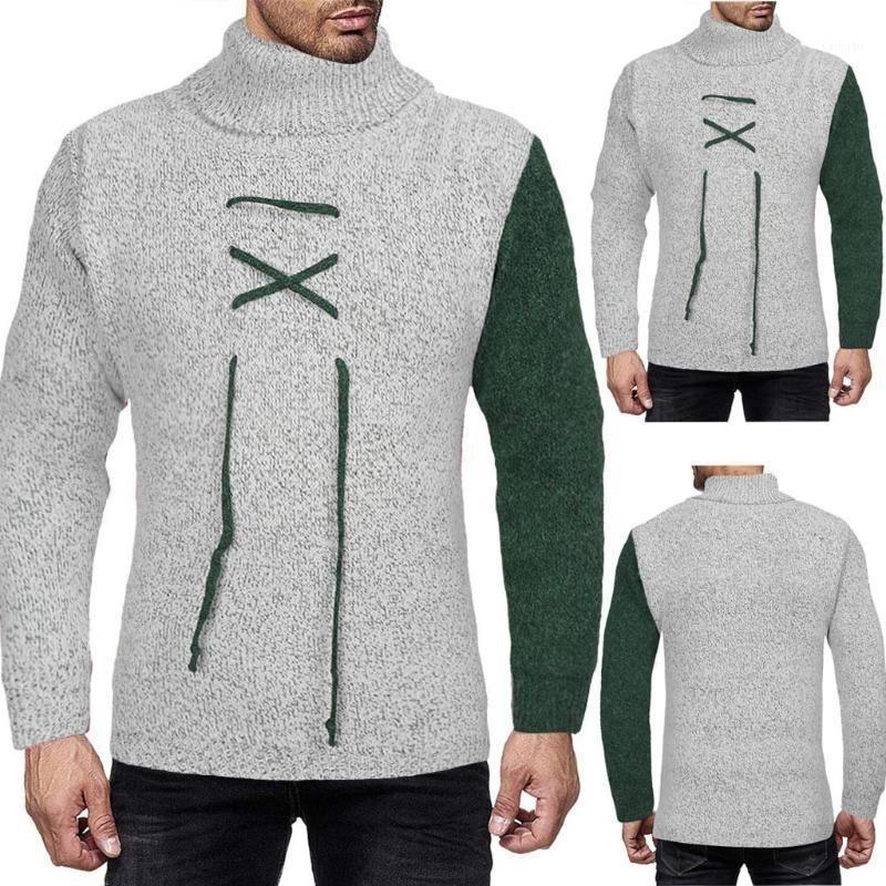 Autunno degli uomini Autunno e inverno Maglioni semplici Design Casual Maglione Casual Top Blouse SweatatCaccati Casual Casual Casual Slim fit Abbigliamento1